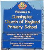 Cannington Primary School sign