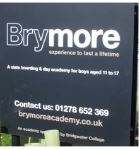 Brymore School sign