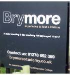 Brymore School sign
